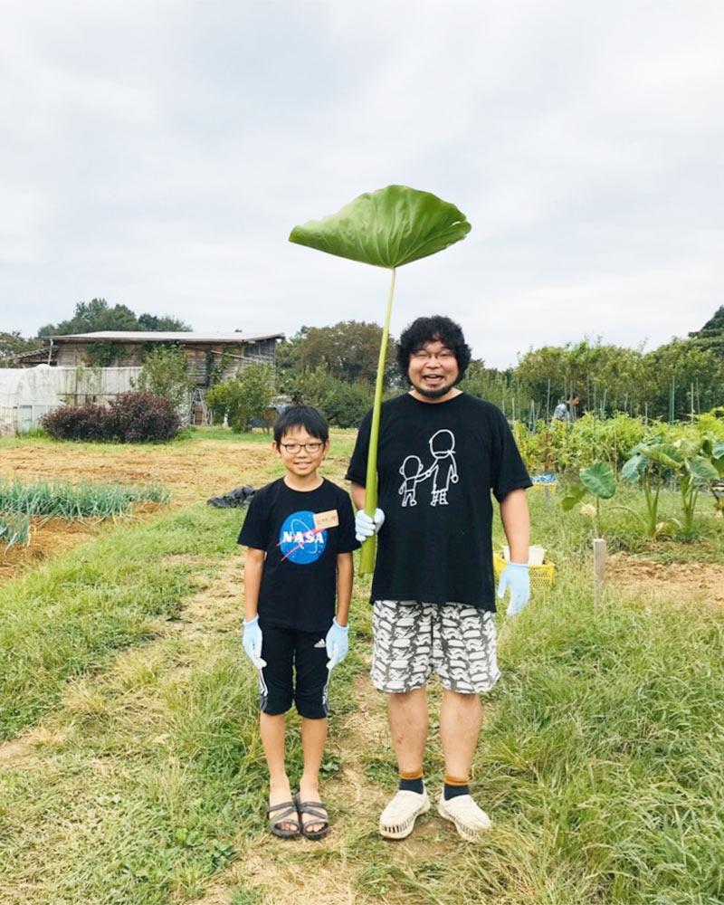 親子DE発達凸凹86の体験学習:農業体験